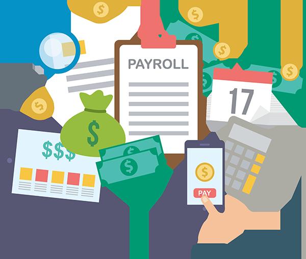 برنامج حساب الأجور و المرتبات