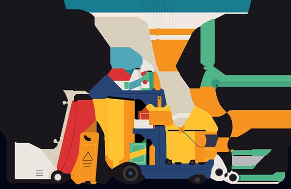 برنامج إدارة شركات النظافة